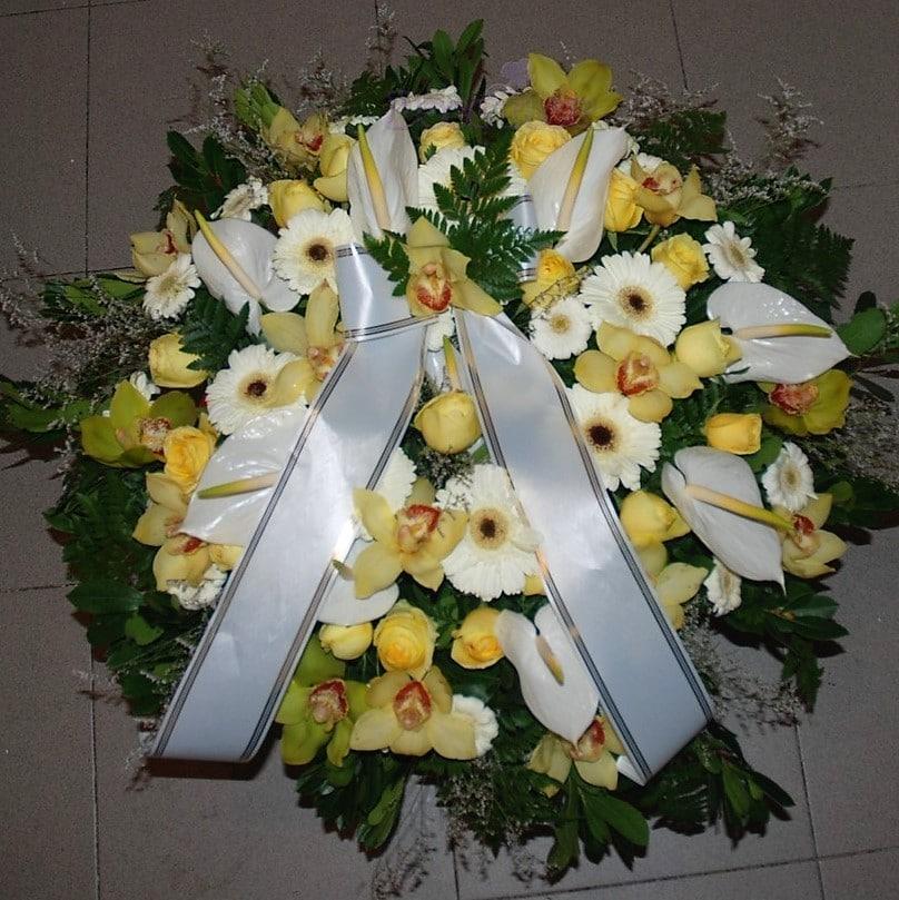Coroa de Funeral Premium