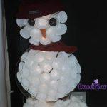 montra boneco neve