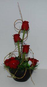 108 Vaso com Rosas