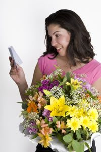 Entrega de flores na Povoa de Santa Iria