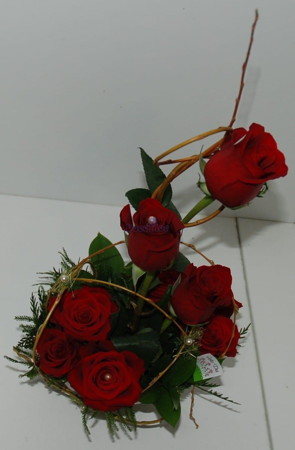 Vaso com Rosas