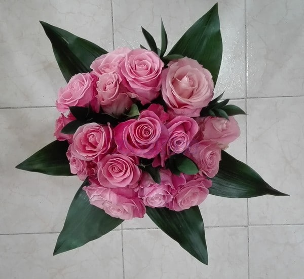 Bouquet de Rosas Cor de Rosa