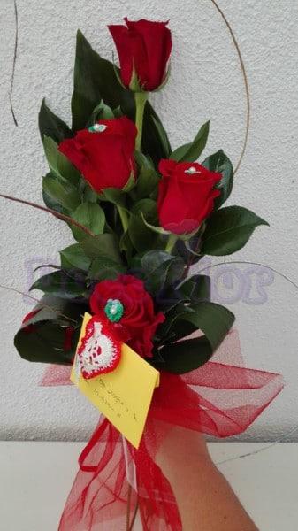 Ramo Rosas Vermelhas