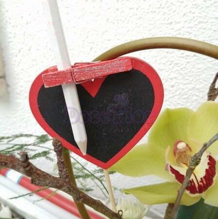 Coração em madeira