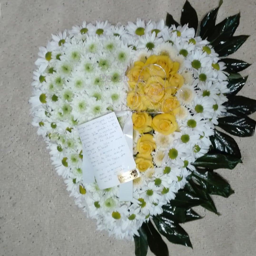 Coração Funeral – Amarelo