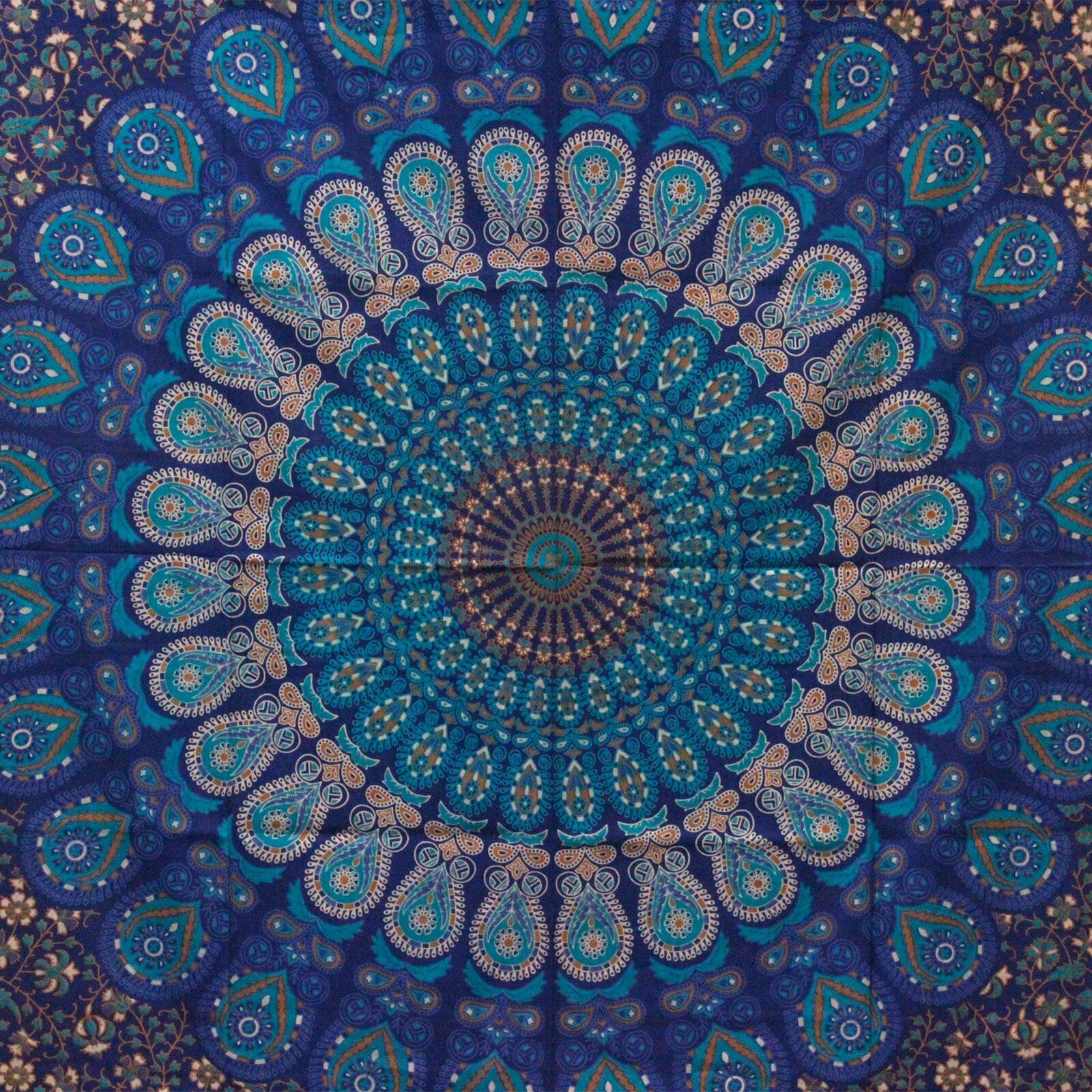 Colcha de algodão duplo – Mandala Clássica