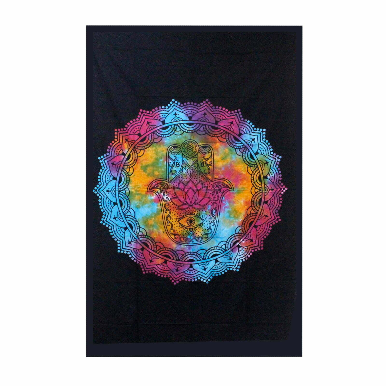 Colcha de algodão – Hamsa Black