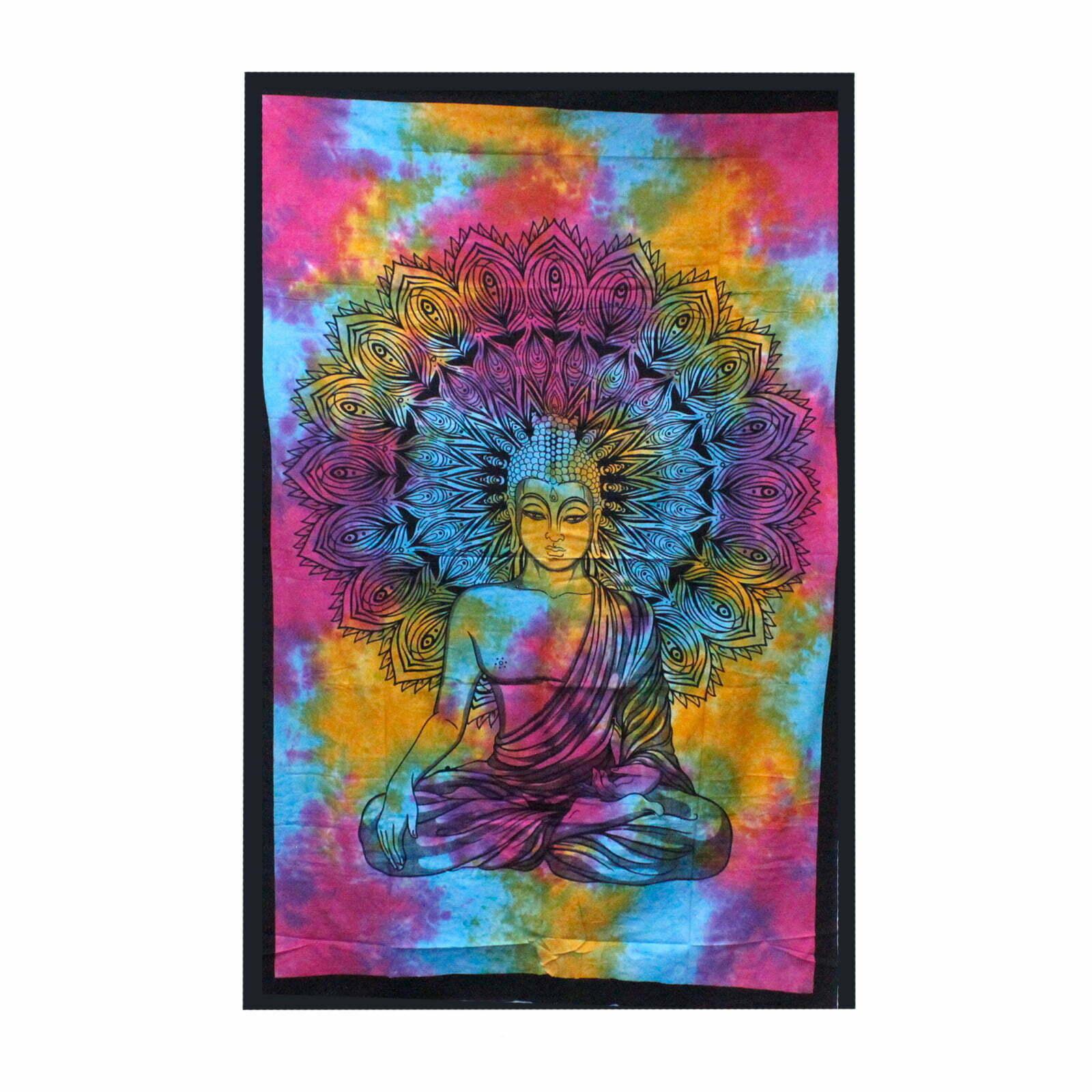 Colcha de algodão duplo – Buda do Pacífico