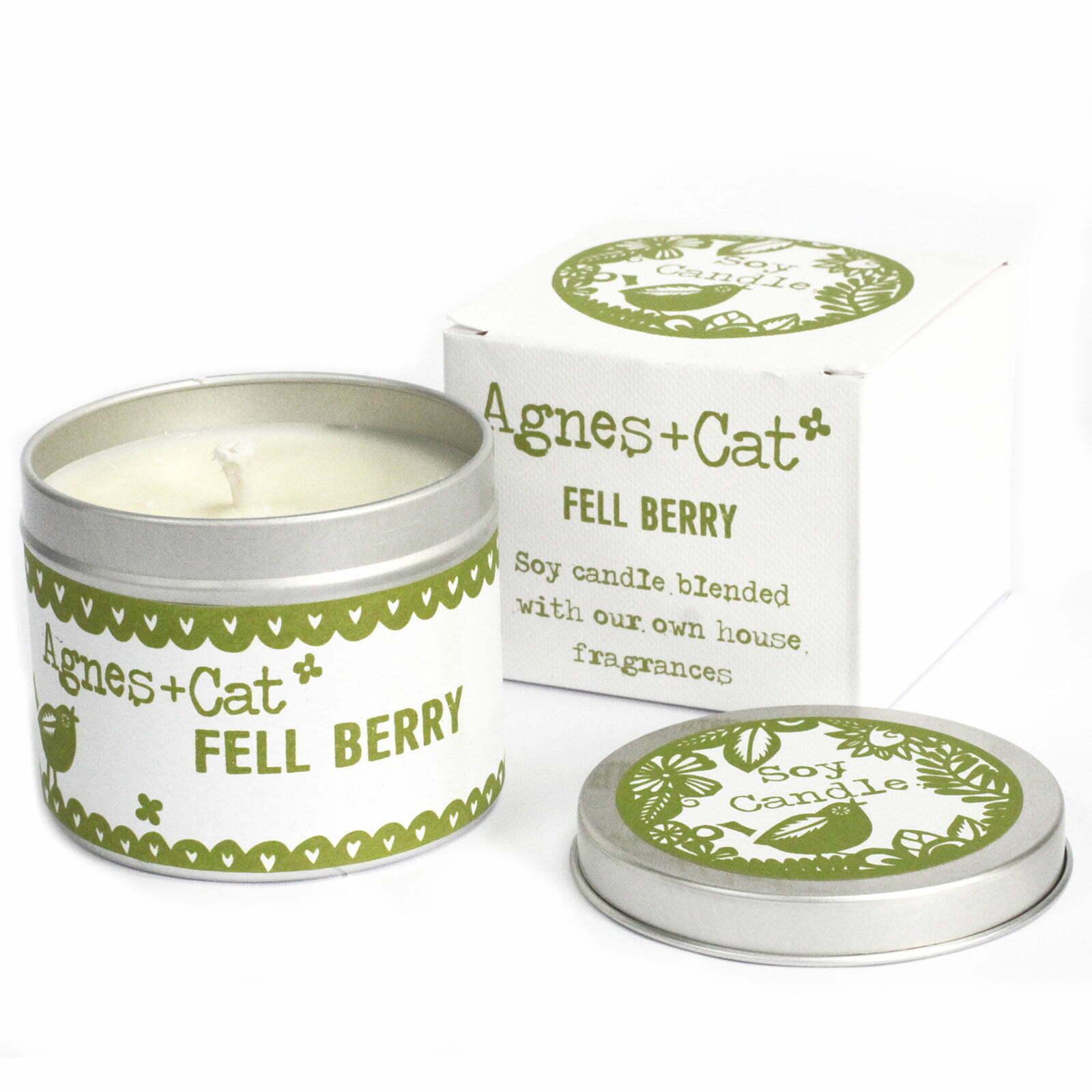 Velas em Lata  – Fell Berry
