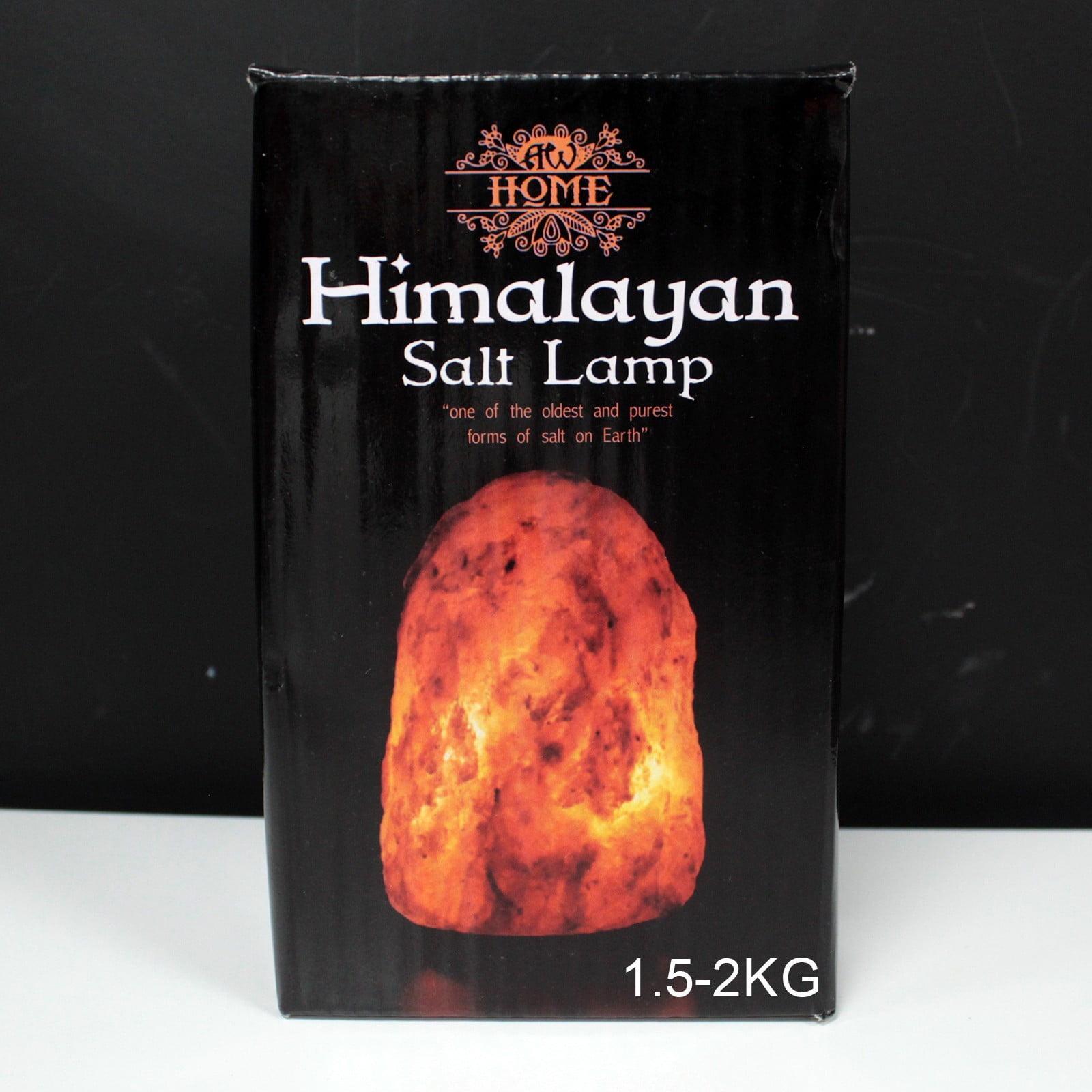 Candeeiro de sal natural de 1,5-2kg