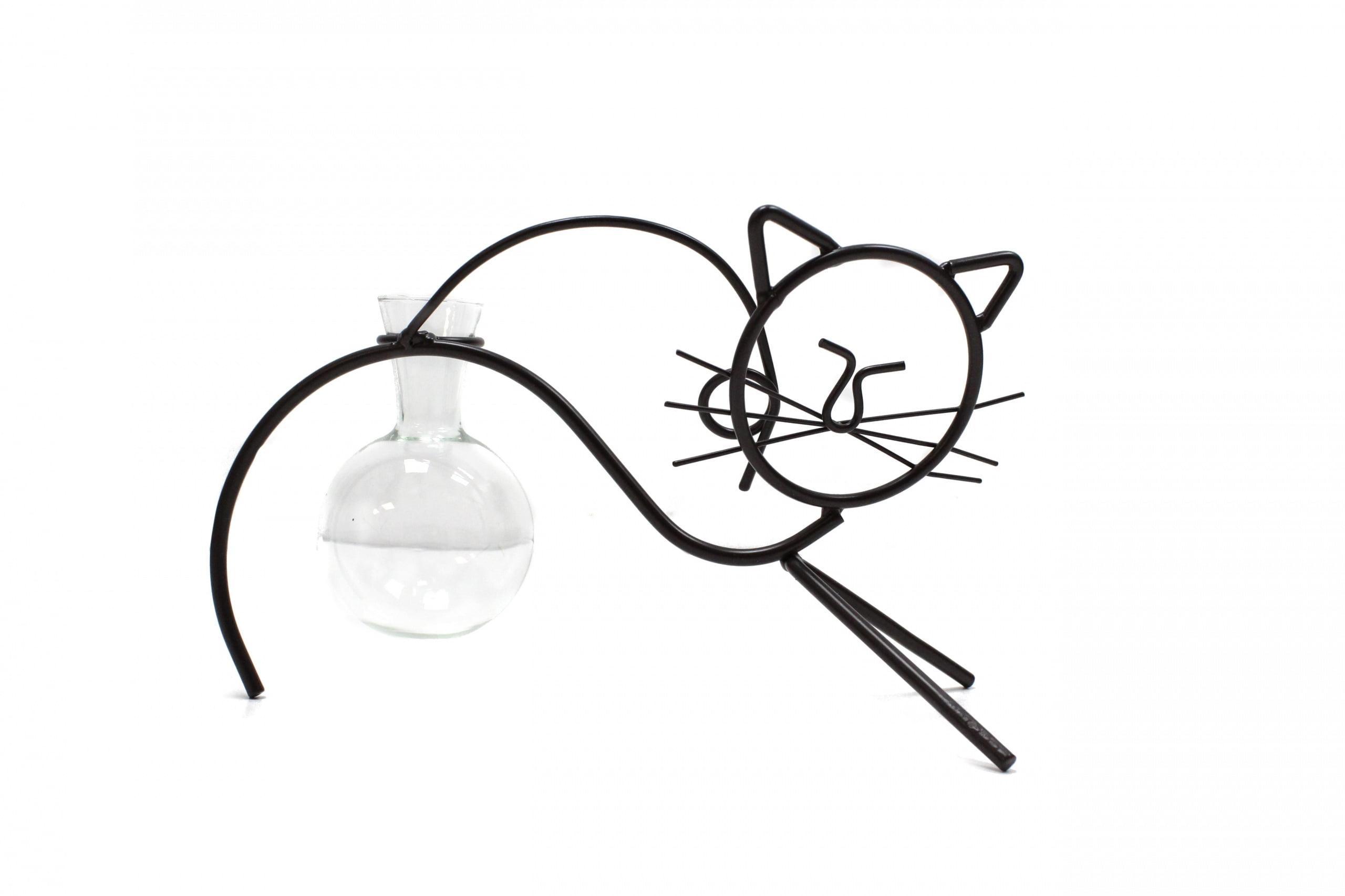 Decoração da casa hidropónica – Gato