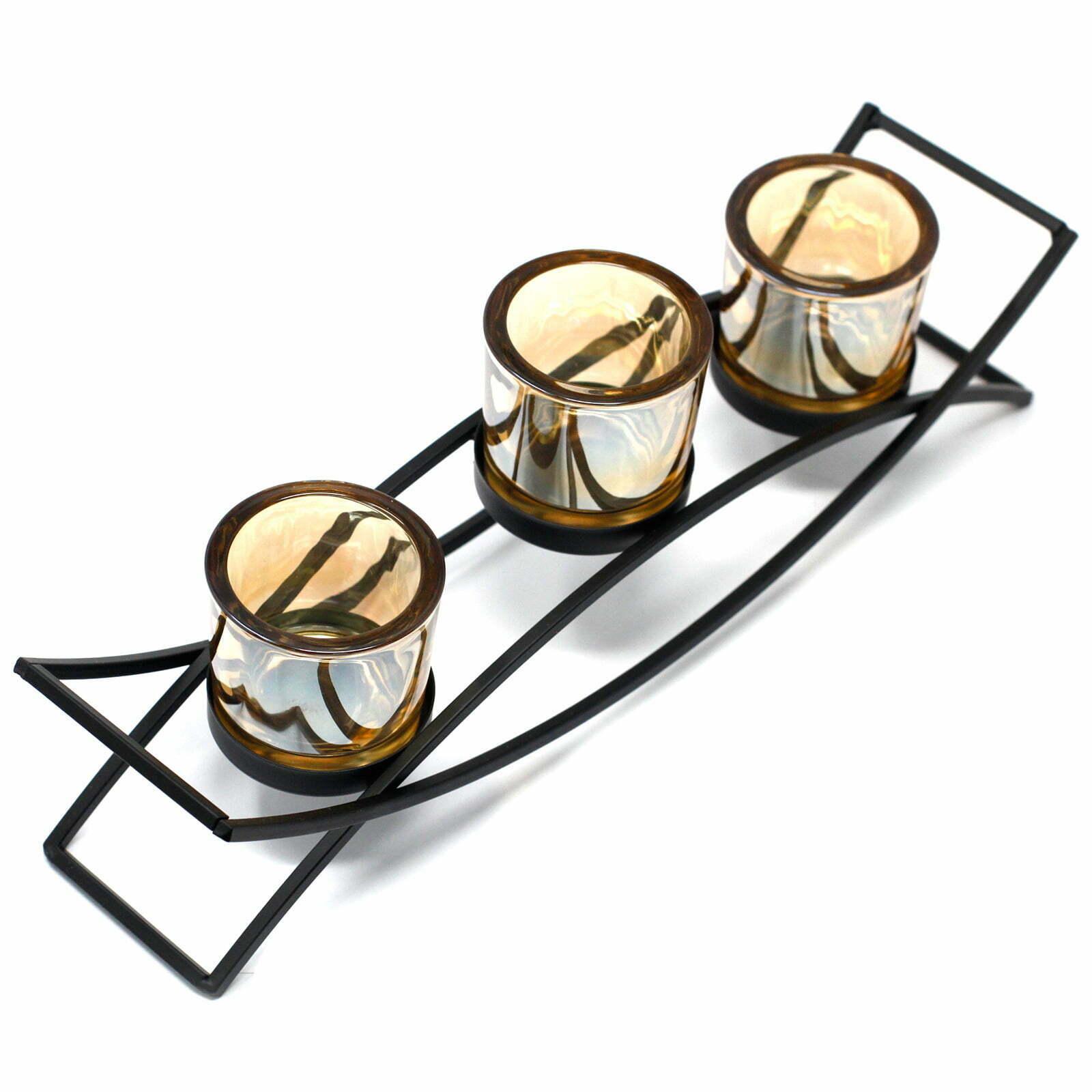 Candelabro de Ferro – Silhueta- 3 Velas
