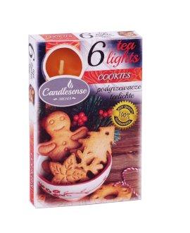 Conjunto de 6 velas perfumadas – Cookies