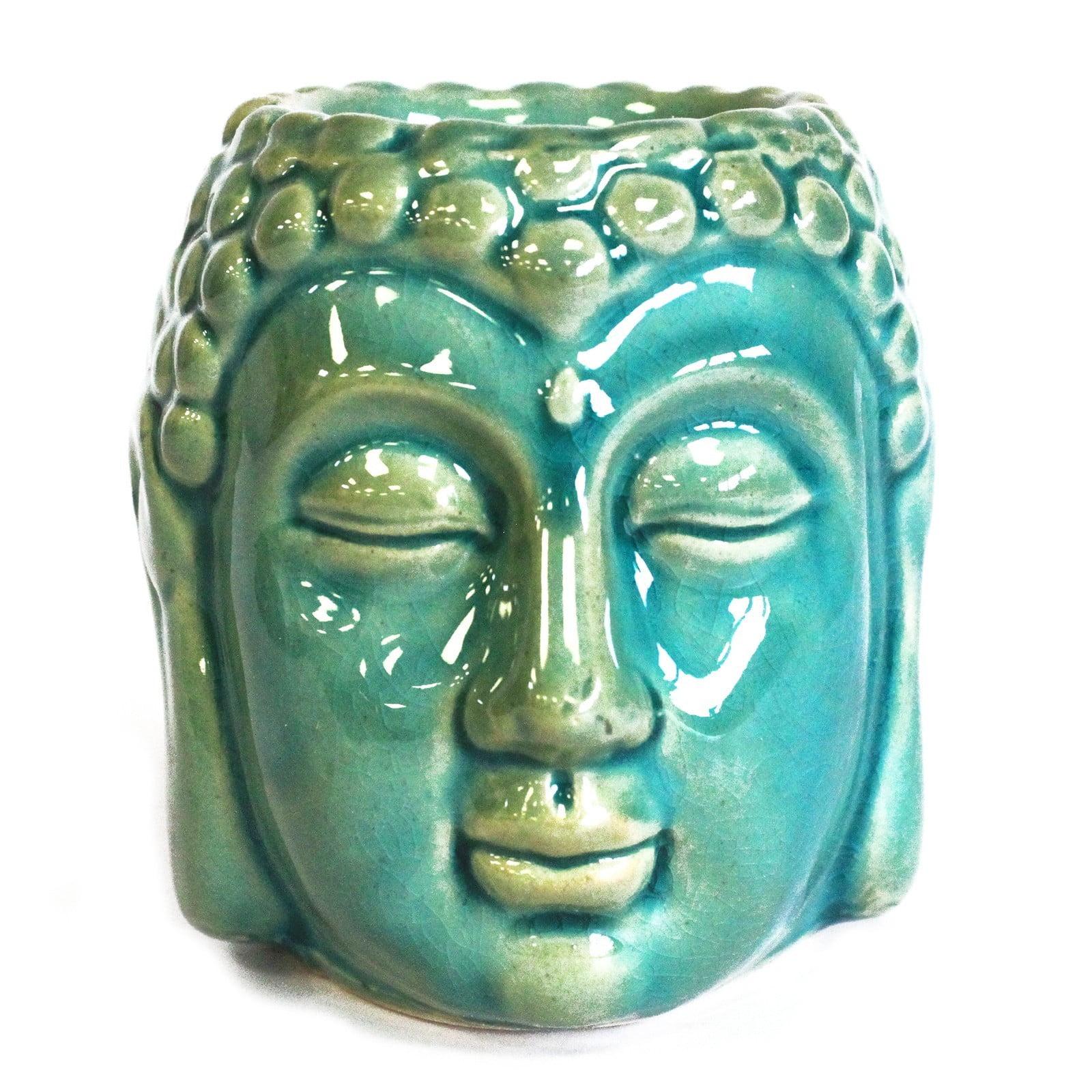Queimador de óleo Buda (cara) – Azul