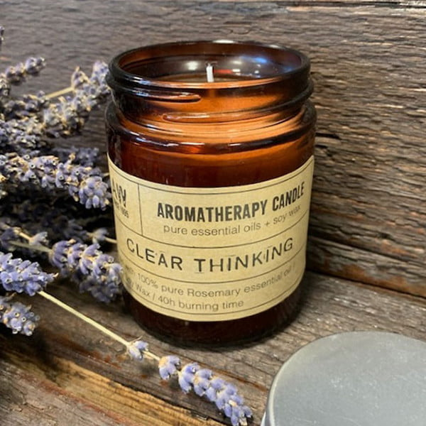 Vela para Aromaterapia – Pensamento Claro