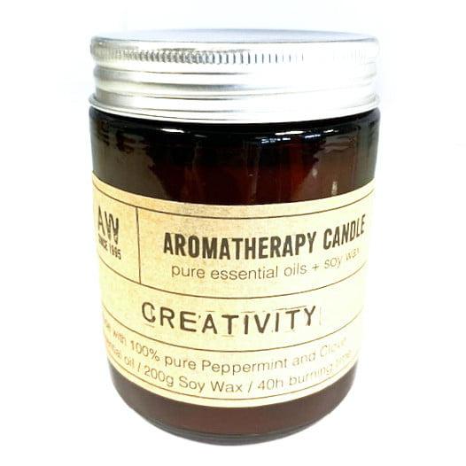 Vela para Aromaterapia – Criatividade