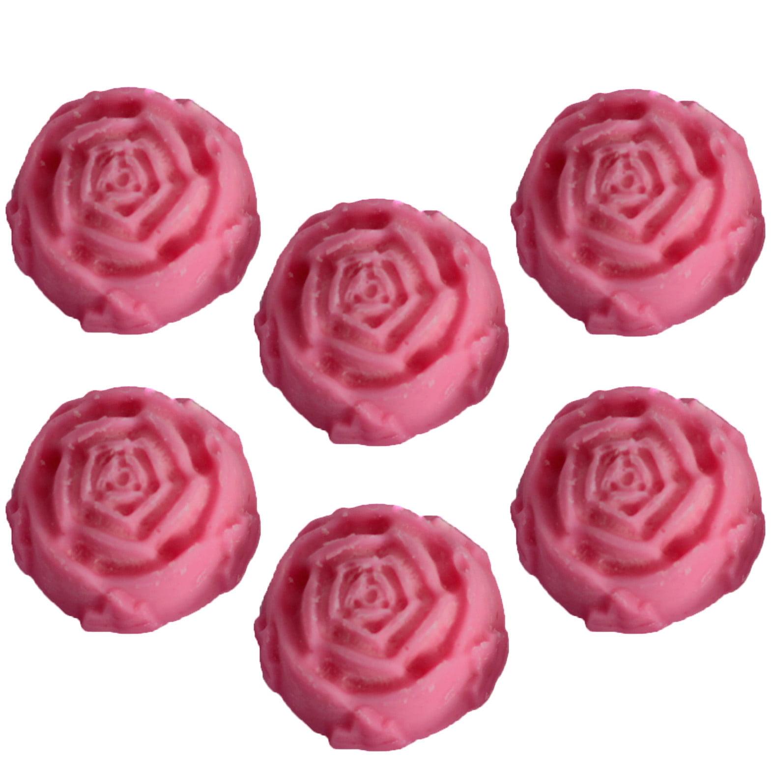 Vela de Soja Natural – Rosa Clássica