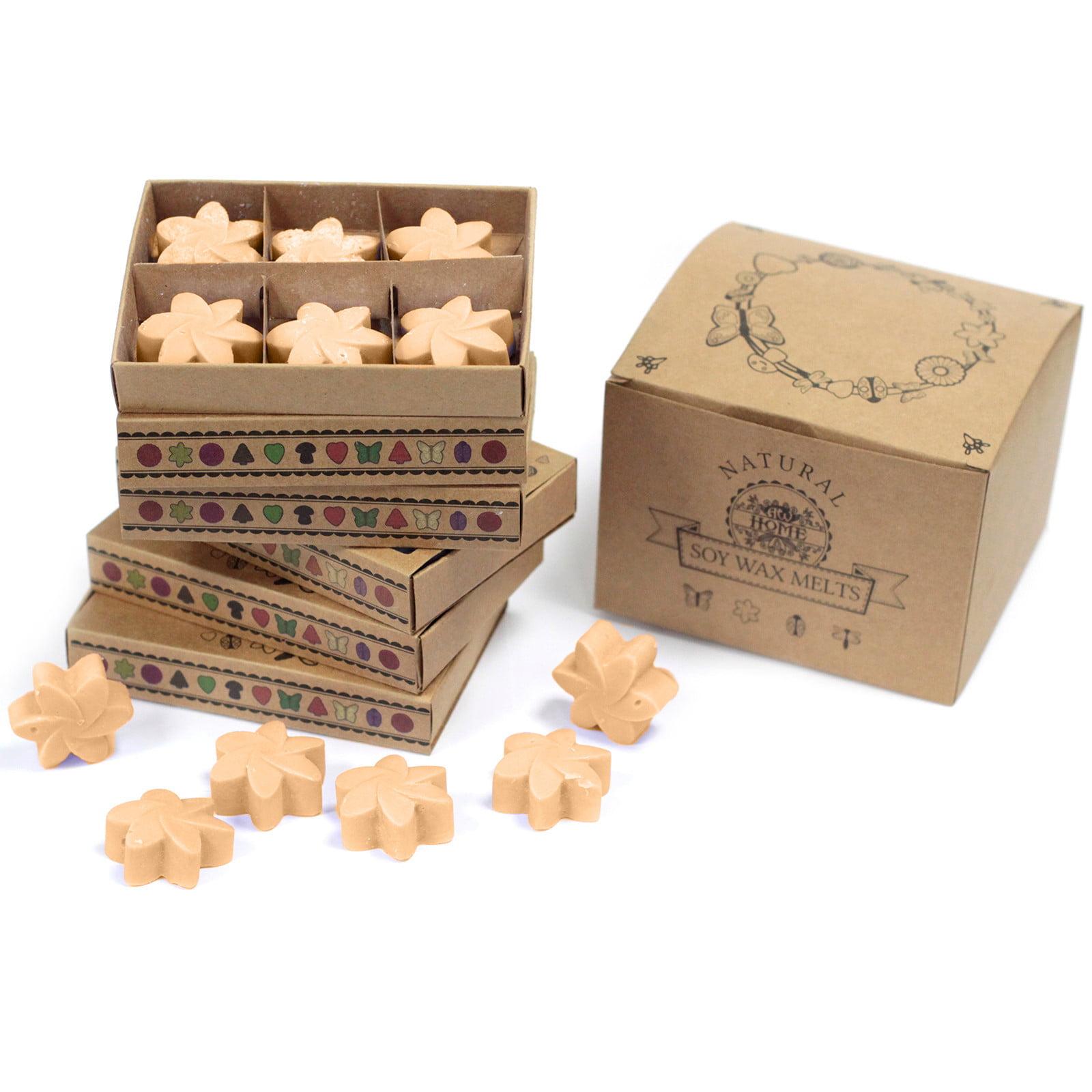 Caixa de 6 velas de soja – Jasmim