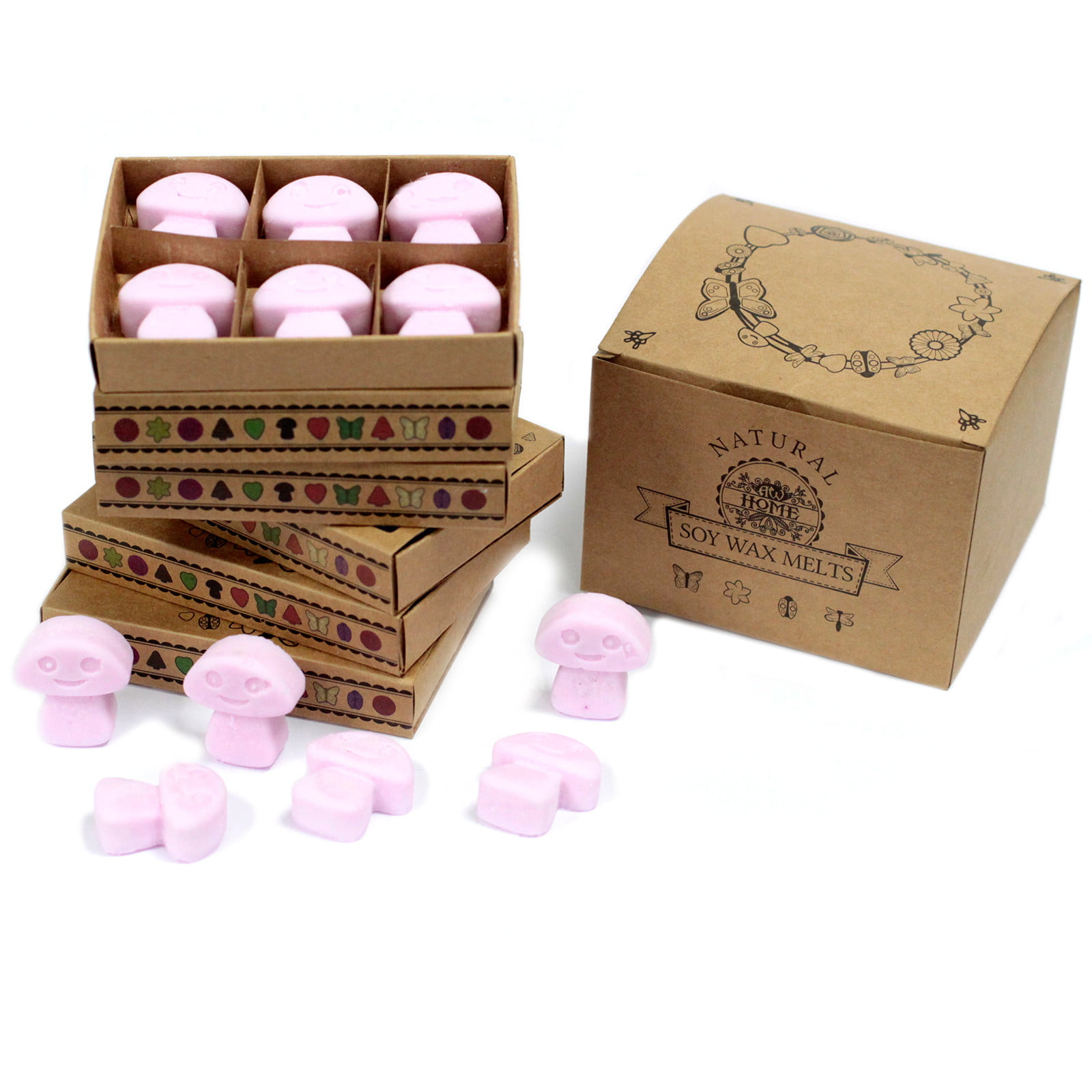 Caixa de 6 velas de Soja – Ylang Ylang