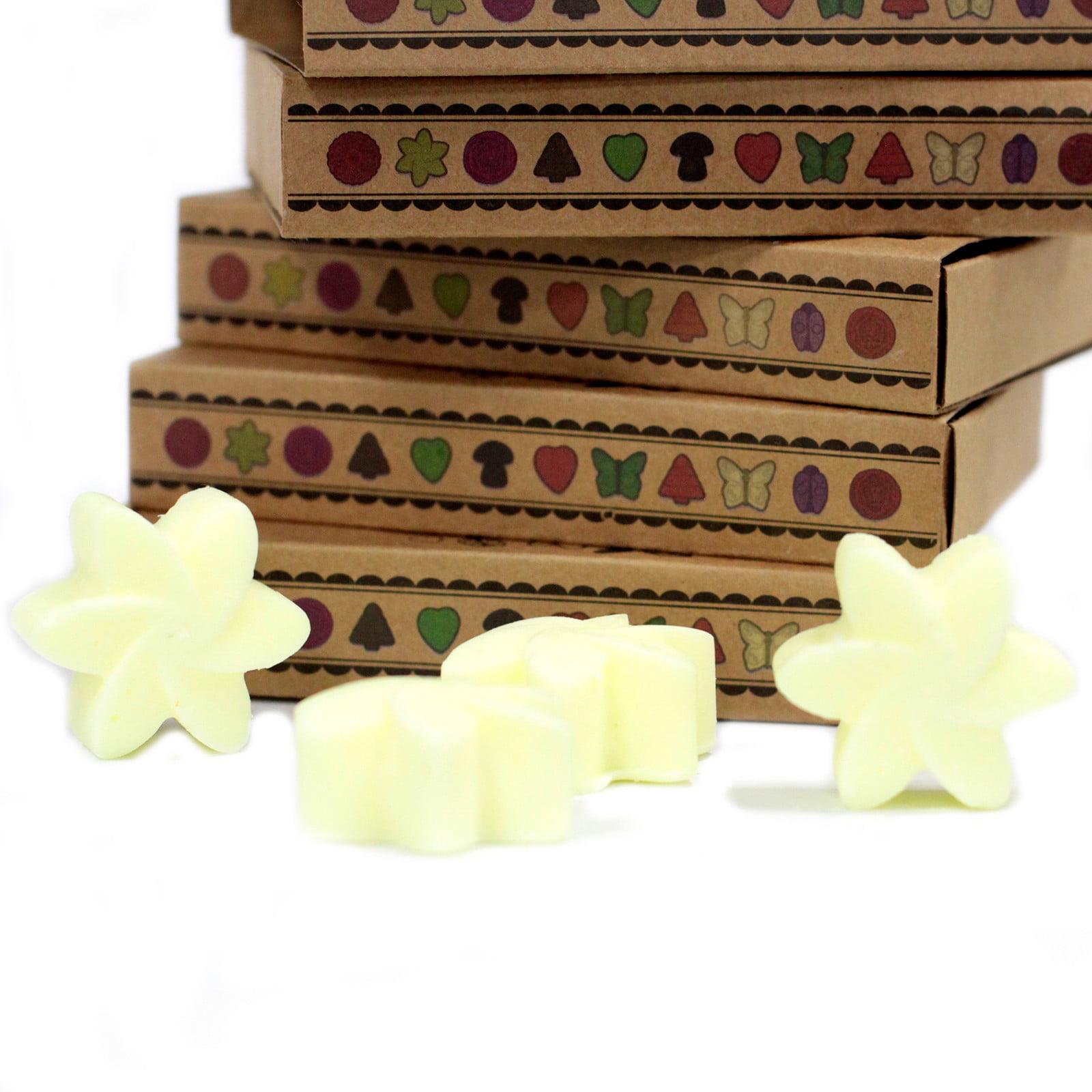Caixa de 6 velas de soja – Limão