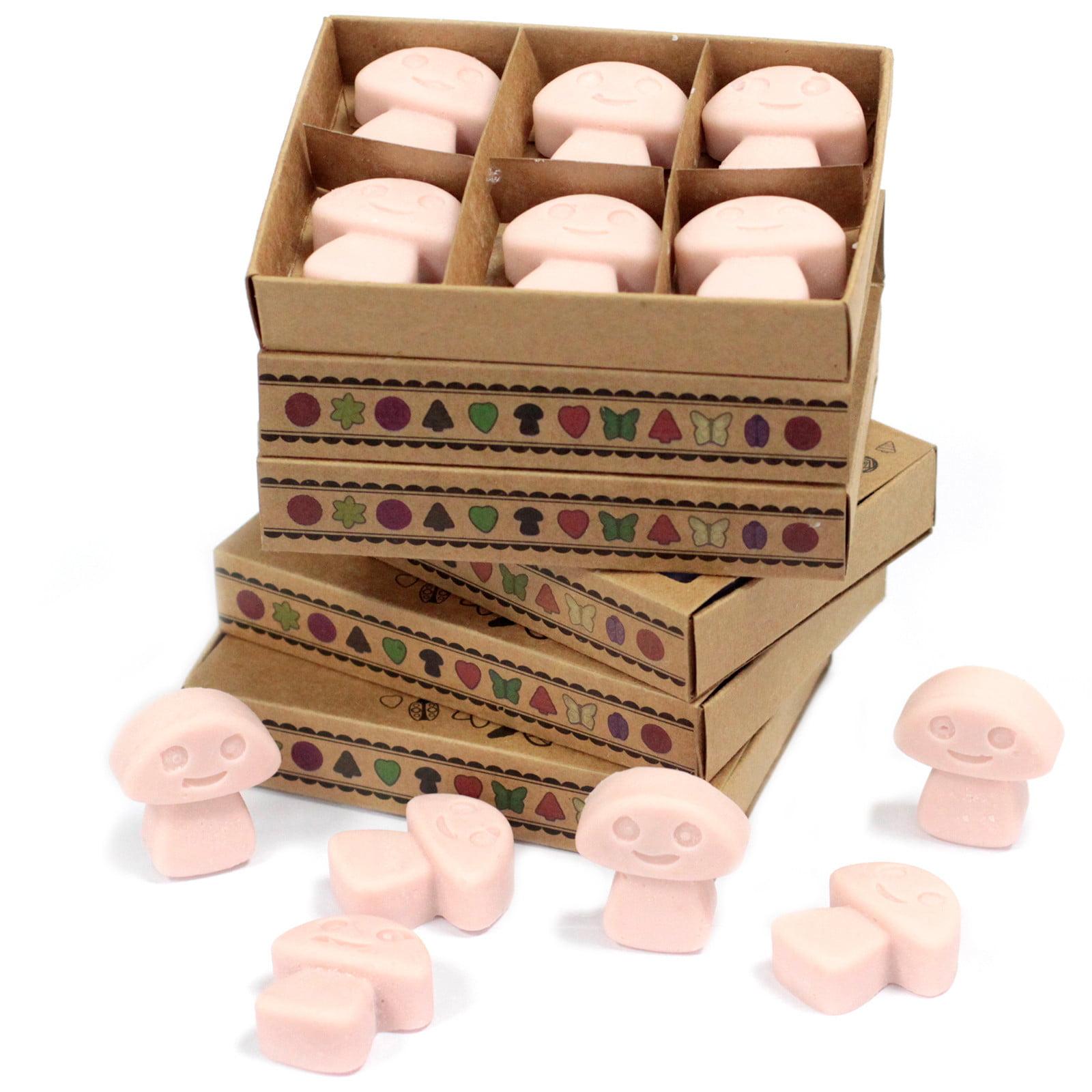 Caixa de 6 velas de soja – Gengibre