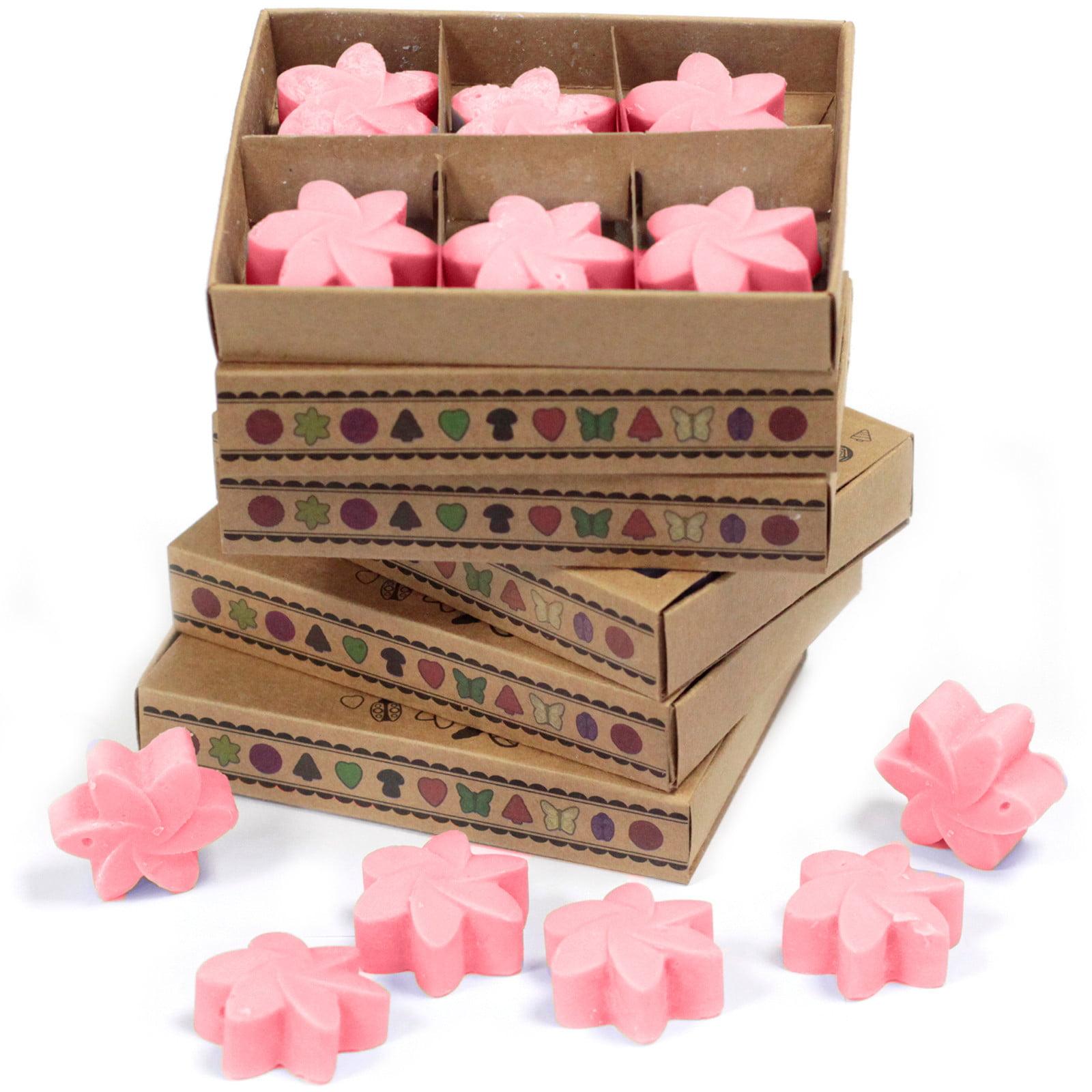 Caixa de 6 velas de soja – Magnólia Japonesa