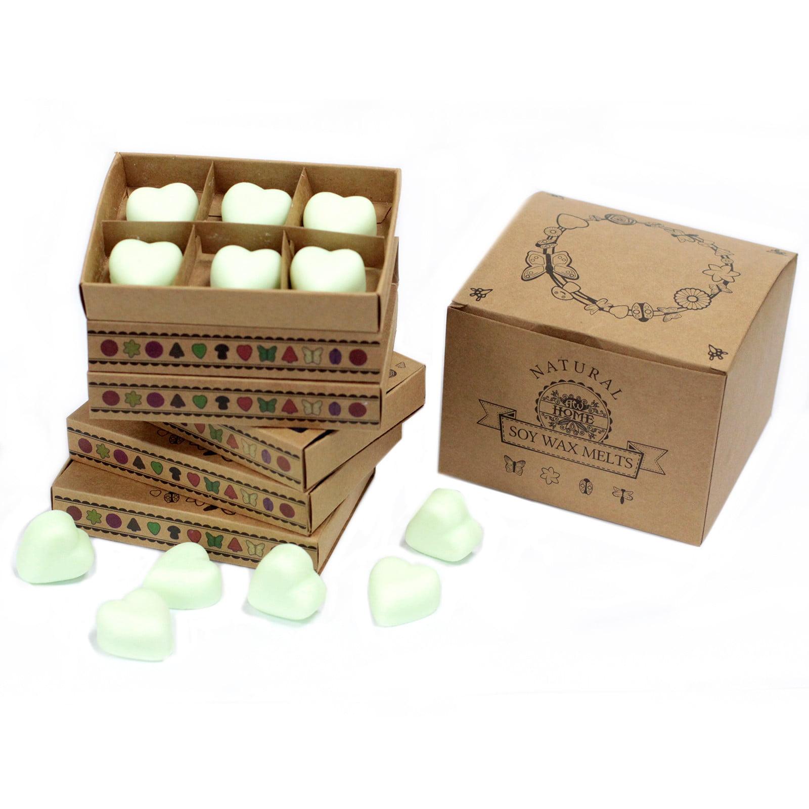 Caixa de 6 velas de soja – Menta e Mentol