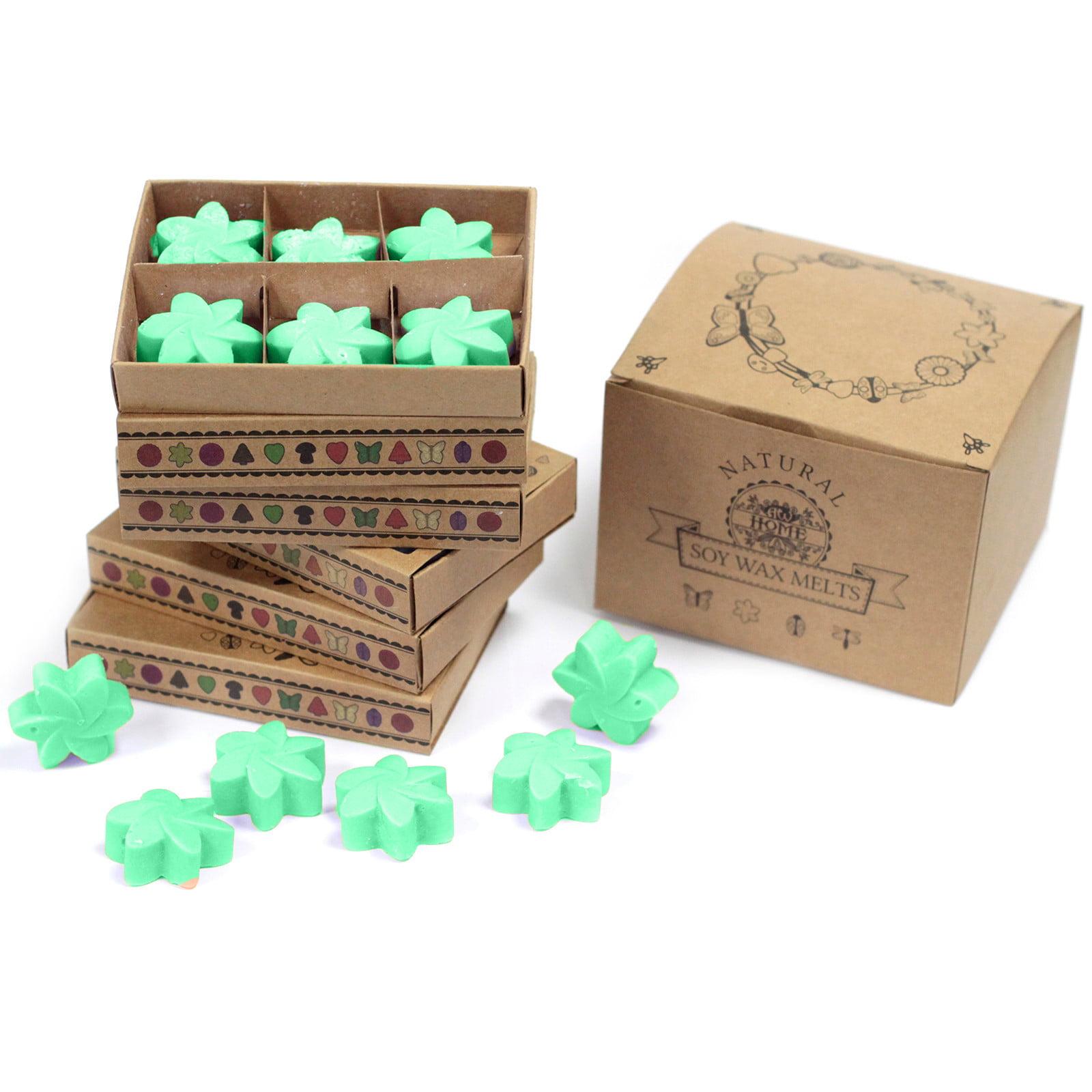 Caixa de 6 velas de soja – Jardim Escondido
